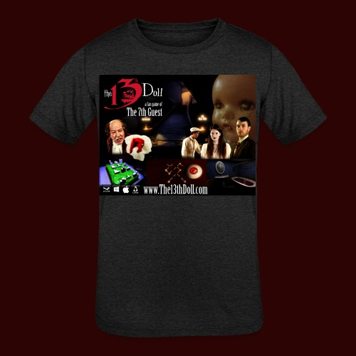 The 13th Doll Cast and Puzzles - Kids' Tri-Blend T-Shirt