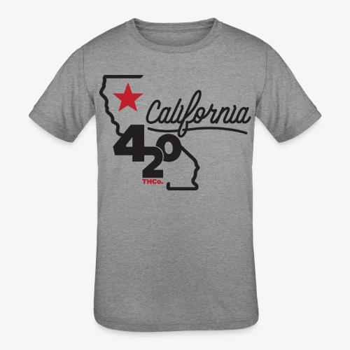 California 420 - Kids' Tri-Blend T-Shirt