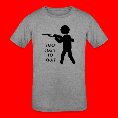 OxyGang: Too Legit To Quit Products - Kids' Tri-Blend T-Shirt