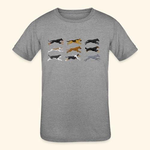 The Starting Nine - Kids' Tri-Blend T-Shirt