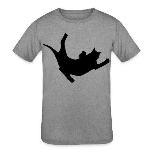 Fly Cat - Kids' Tri-Blend T-Shirt