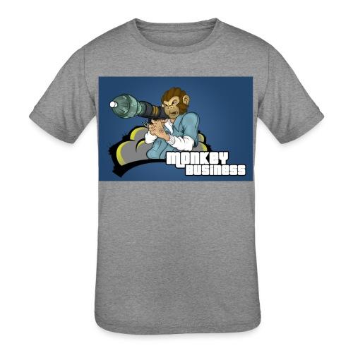 MonkeyBuisness - Kids' Tri-Blend T-Shirt