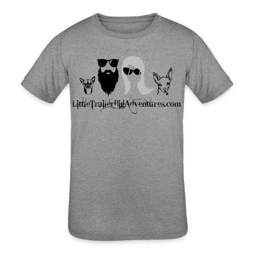 LTBA Heads Logo - Kids' Tri-Blend T-Shirt