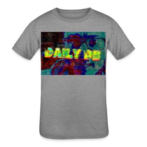 daily db poster - Kids' Tri-Blend T-Shirt