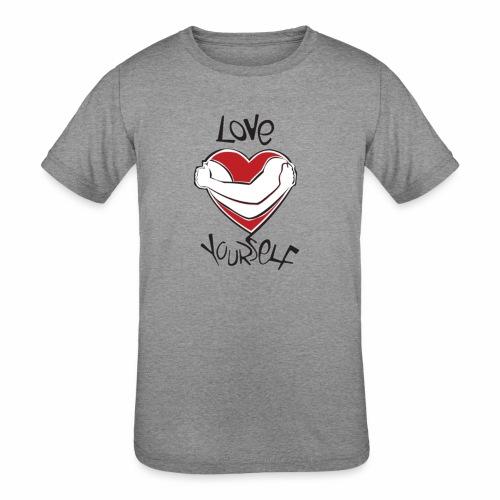 LOVE YOURSELF - Kids' Tri-Blend T-Shirt