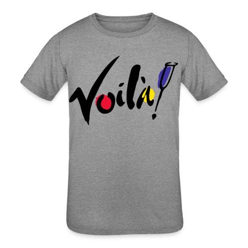 Voila - Kids' Tri-Blend T-Shirt
