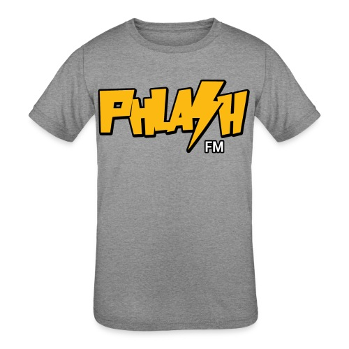 PHLASH fm - Kids' Tri-Blend T-Shirt
