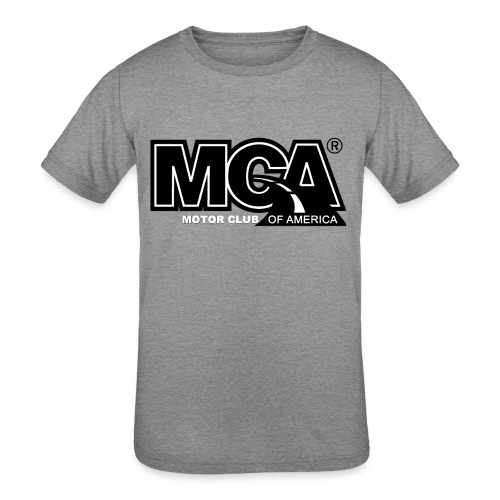 MCA Logo WBG Transparent BLACK TITLEfw fw png - Kids' Tri-Blend T-Shirt