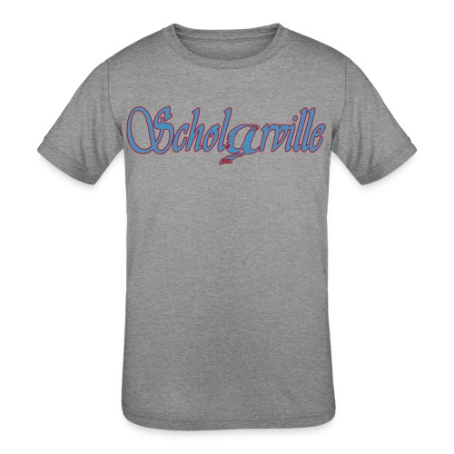 Welcome To Scholarville - Kids' Tri-Blend T-Shirt