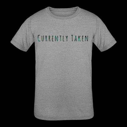 Currently Taken T-Shirt - Kids' Tri-Blend T-Shirt