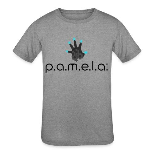 P.A.M.E.L.A. Logo Black - Kids' Tri-Blend T-Shirt