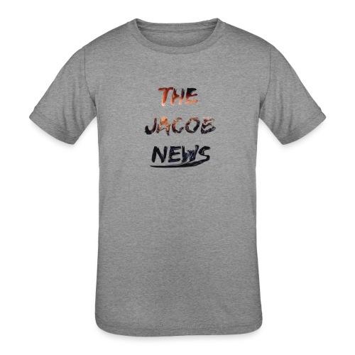 jacob news - Kids' Tri-Blend T-Shirt