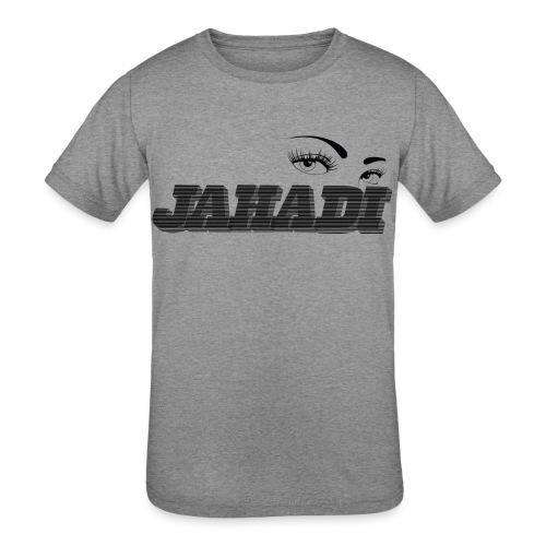HadiLogo - Kids' Tri-Blend T-Shirt