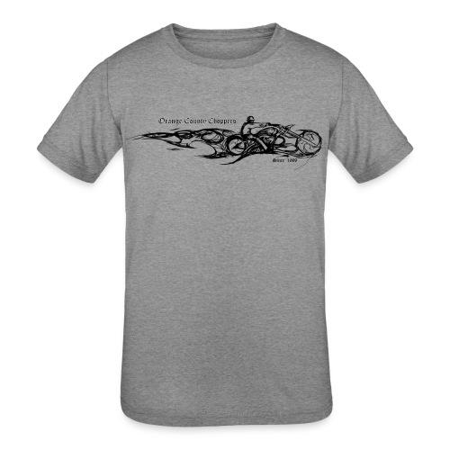 Sketch Rider Front - Kids' Tri-Blend T-Shirt