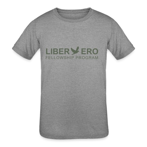 LiberEro logo - Kids' Tri-Blend T-Shirt