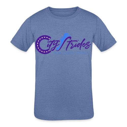 Full Logo - Kids' Tri-Blend T-Shirt