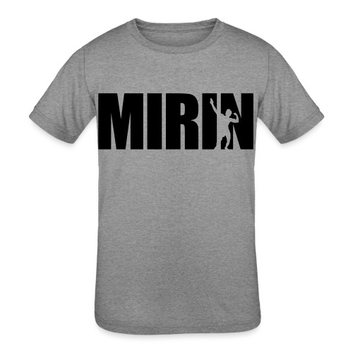 Zyzz Mirin Pose text - Kids' Tri-Blend T-Shirt