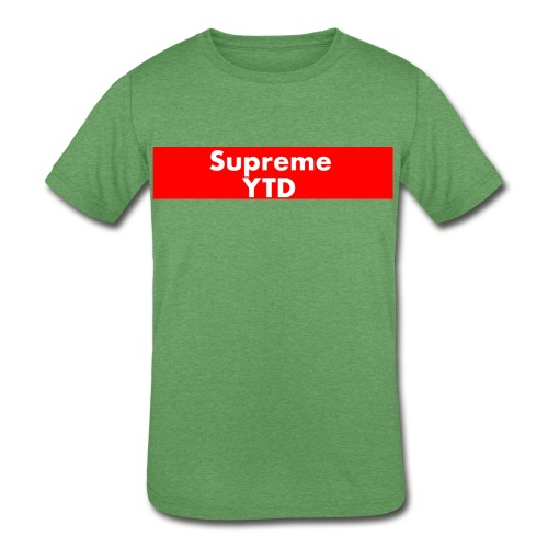 supreme ytd - Kids' Tri-Blend T-Shirt