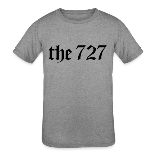 The 727 in Black Lettering - Kids' Tri-Blend T-Shirt