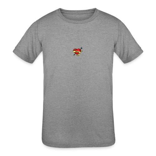 i love mom - Kids' Tri-Blend T-Shirt