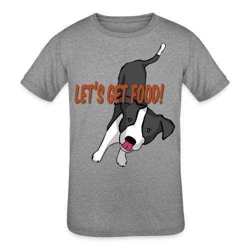 Foodie Dog Border Collie - Kids' Tri-Blend T-Shirt