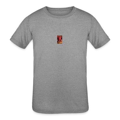 Dragon anger - Kids' Tri-Blend T-Shirt