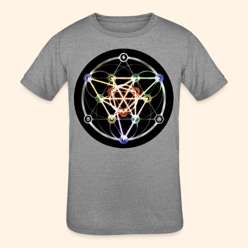 Classic Alchemical Cycle - Kids' Tri-Blend T-Shirt