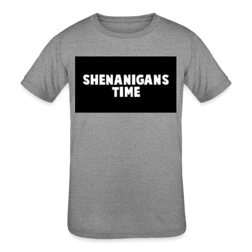 SHENANIGANS TIME MERCH - Kids' Tri-Blend T-Shirt