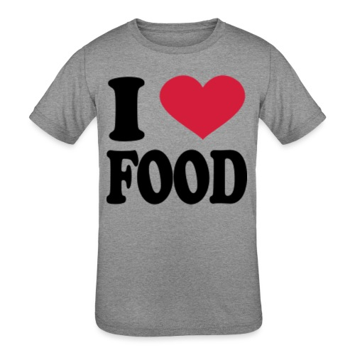 i love food - Kids' Tri-Blend T-Shirt