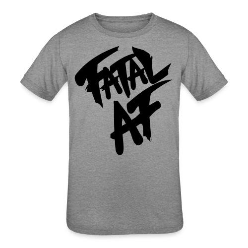 fatalaf - Kids' Tri-Blend T-Shirt