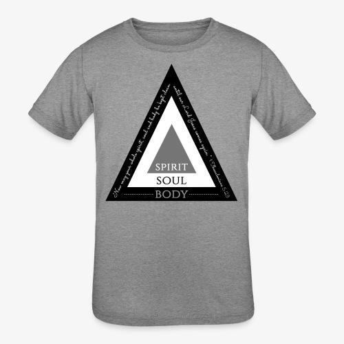 Spirit Soul Body - Kids' Tri-Blend T-Shirt