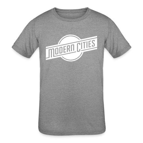 Modern Cities - Kids' Tri-Blend T-Shirt
