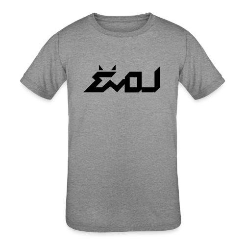 evol logo - Kids' Tri-Blend T-Shirt