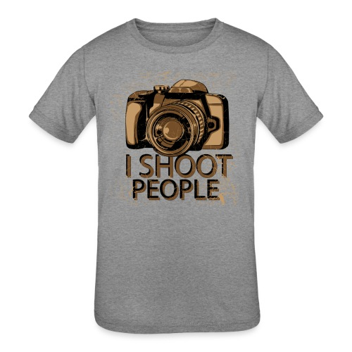 Photographer - Kids' Tri-Blend T-Shirt
