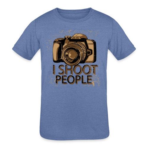 Photographer - Kids' Tri-Blend T-Shirt