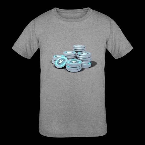 vbucks - Kids' Tri-Blend T-Shirt