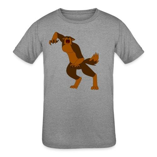 Werewolf Kiba - Kids' Tri-Blend T-Shirt