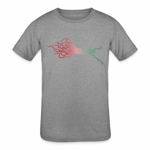 Octowoman fade - Kids' Tri-Blend T-Shirt