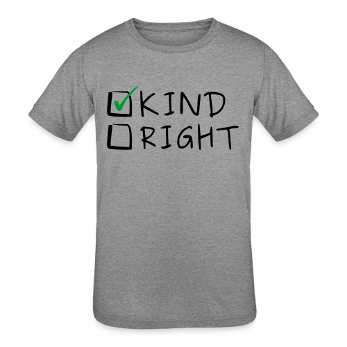 Choose Kind Anti-Bullying - Kids' Tri-Blend T-Shirt