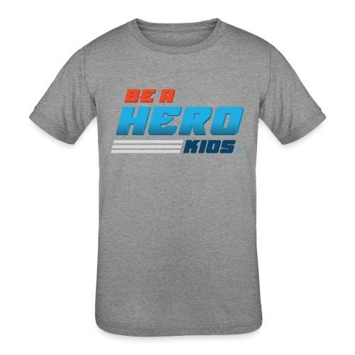 BHK secondary full color stylized TM - Kids' Tri-Blend T-Shirt