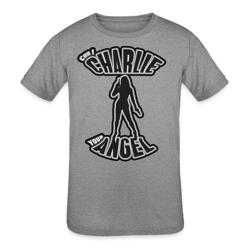 Can I Charlie Your Angel? - Kids' Tri-Blend T-Shirt