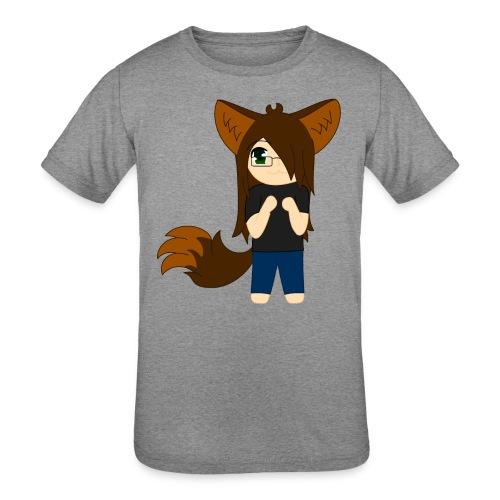 Khibi Kibi - Kids' Tri-Blend T-Shirt