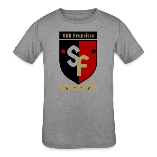 San Francisco Muzna - Kids' Tri-Blend T-Shirt