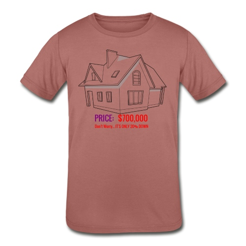 Fannie & Freddie Joke - Kids' Tri-Blend T-Shirt