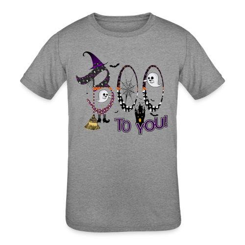 Halloween Boo To You - Kids' Tri-Blend T-Shirt
