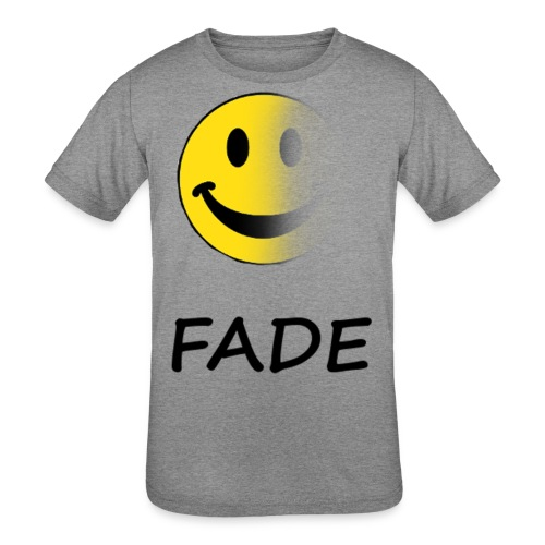 Fade Official Smile - Kid's Tri-Blend T-Shirt