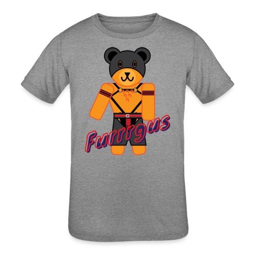 Leather Furrrgus - Kids' Tri-Blend T-Shirt