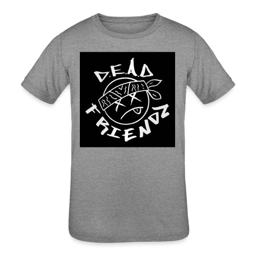 D.E.A.D FRIENDZ Records - Kids' Tri-Blend T-Shirt