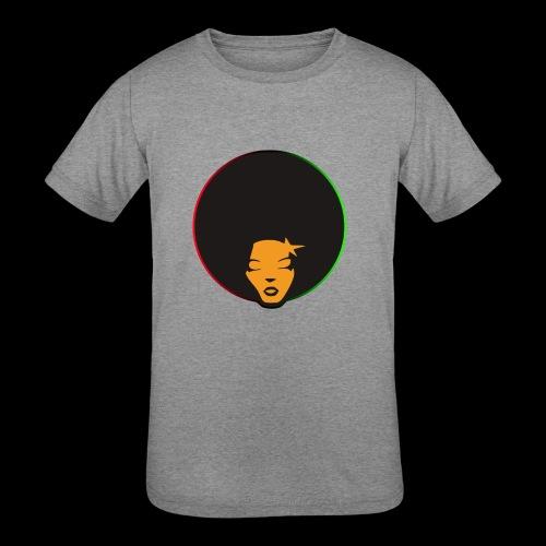 Afrostar - Kids' Tri-Blend T-Shirt