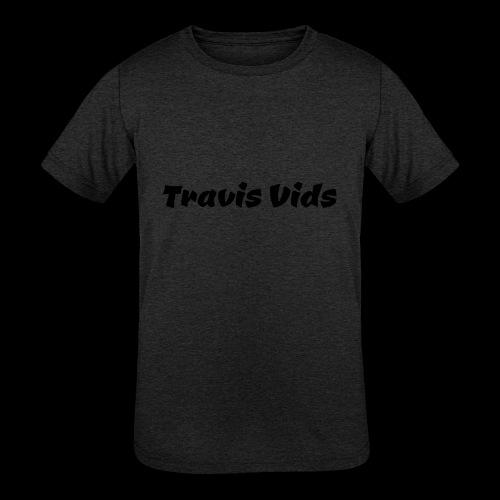 White shirt - Kids' Tri-Blend T-Shirt